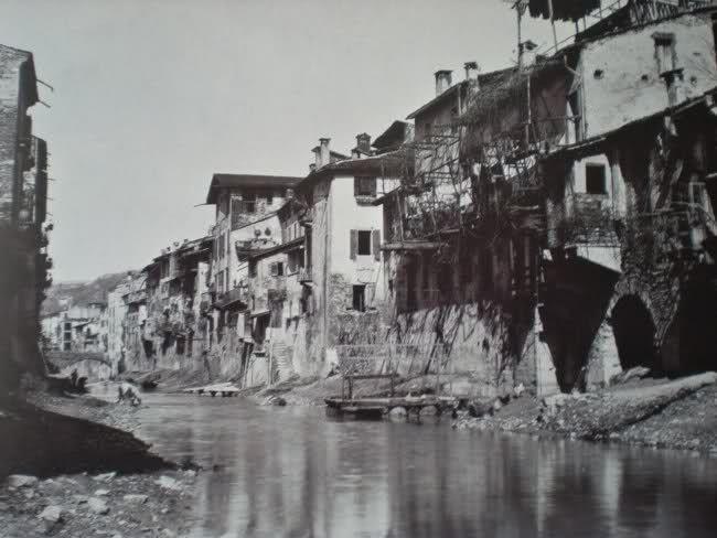 Interrato Acqua Morta http://www.veronavintage.it/verona-antica/immagini-storiche-verona/interrato-acqua-morta-3