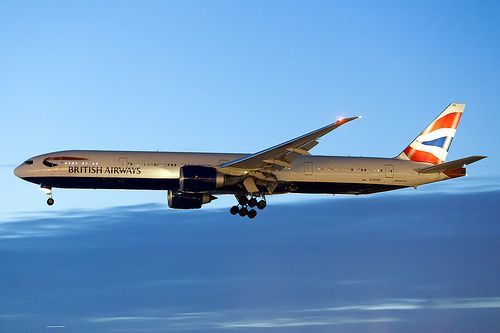 British Airways Boeing 777-300ER G-STBE