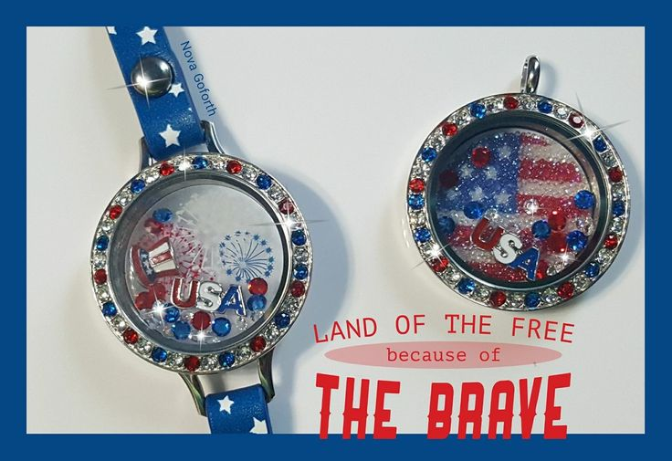 Military pride! Country pride!! Origami Owl new summer collection! Limited edition. https://dreambig.origamiowl.com/