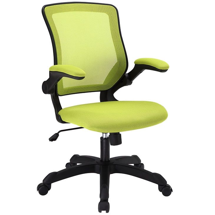 LexMod - Veer Mesh Office Chair in Green