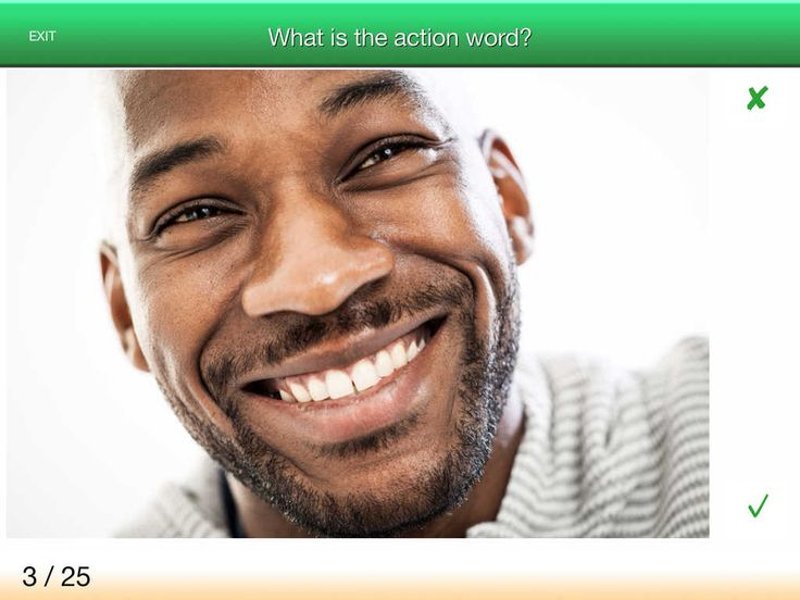 App Shopper: Verb Trainer - word-finding therapy for aphasia (Speech Language Therapy app ...