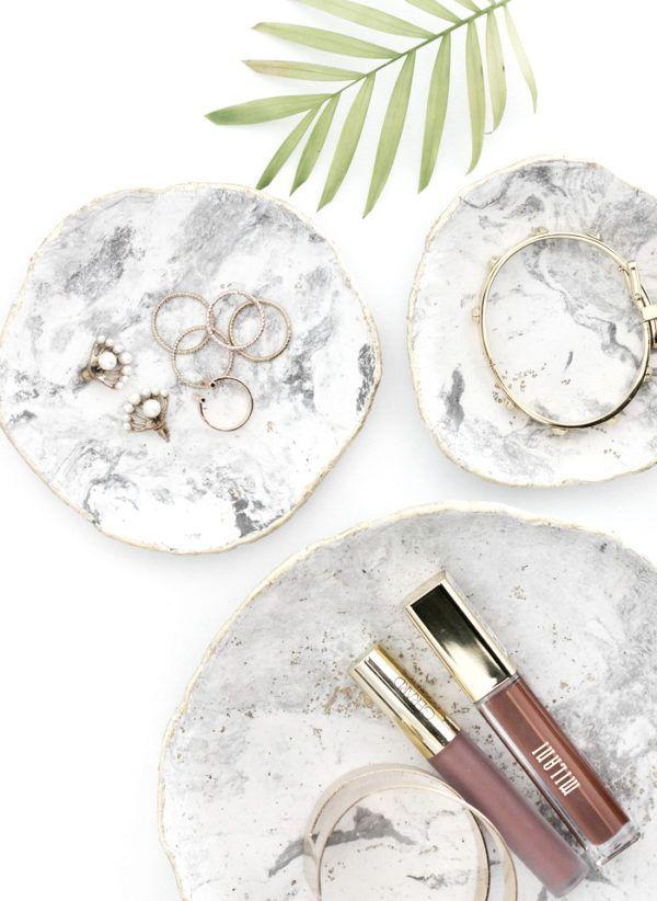 DIY Marmor-Schmuck-Schale mit Gold-Inlay1DIY