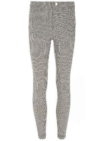 Dorothy Perkins Womens **Tall Star Skinny Trousers- Black **Tall mono star print skinny stretch trouser 81cm in length. 76% Viscose,21% Polyamide,3% Elastane. Machine washable. http://www.MightGet.com/january-2017-13/dorothy-perkins-womens-tall-star-skinny-trousers-black.asp