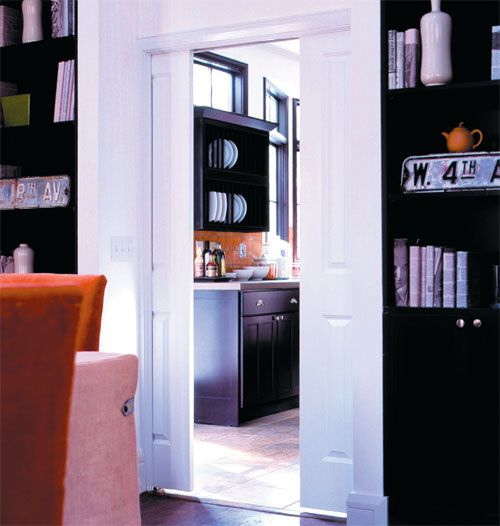 Swinging Dining Room Door