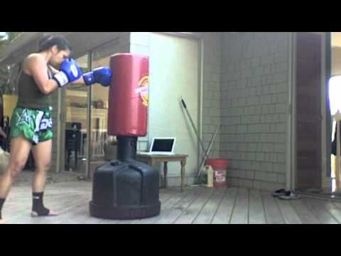 Muay Thai boxing conditioning at home (Bas Rutten Thai Boxing Workout)