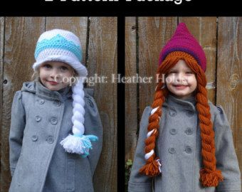 Kristoff Frozen Crocheted Hat Pattern  Instant by HHCrafts on Etsy