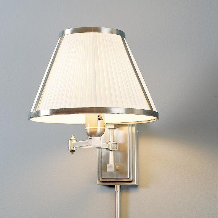 kensington swing arm wall lamp. Black Bedroom Furniture Sets. Home Design Ideas