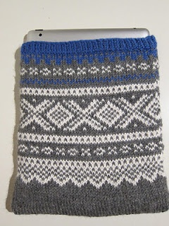 Cover for Ipad with Marius pattern