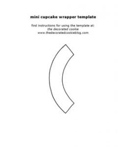Cupcake Wrapper Templates