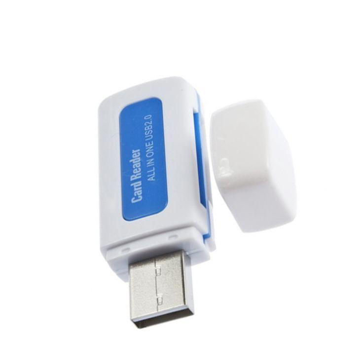 Купить товар1 шт. USB 2.0 4 в 1 памяти нескольких карт для м2 sd SDHC DV микро SD карты памяти синий прямая поставка в категории Устройства для чтения картна AliExpress.          Переносной USB 2.0 4 в 1 памяти карты кард-ридер для SD карты памяти T-FLASH карты M2           Новое и в