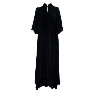 1960s Gina Fratini Velvet Evening Coat
