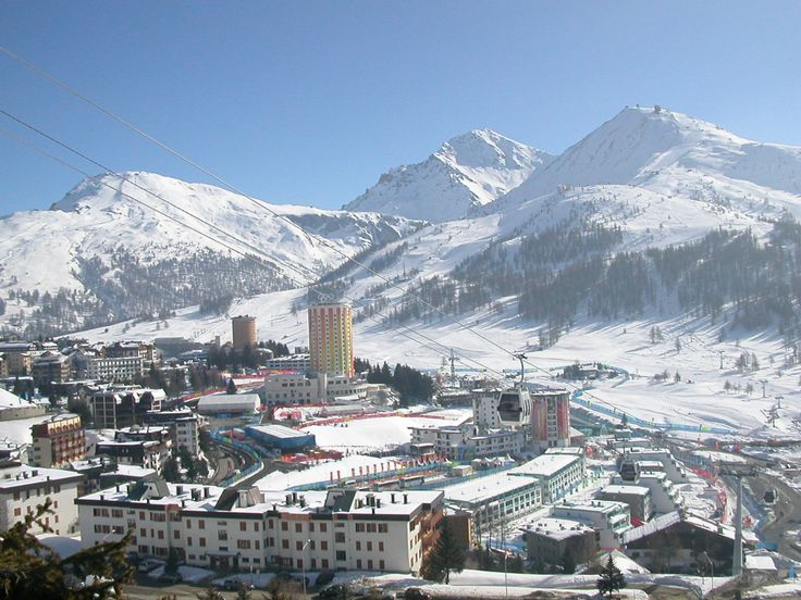Sestriere Italy.  Been there done that