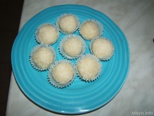 » Palline di cocco Ricette di Misya - Ricetta Palline di cocco di Misya