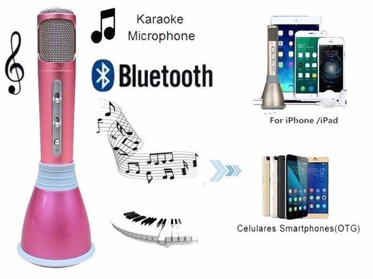 Безжичен+блутут+караоке+микрофон