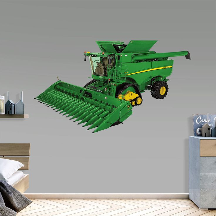 Fathead John Deere S690 Combine Real Big Wall Decal - 1087-00014