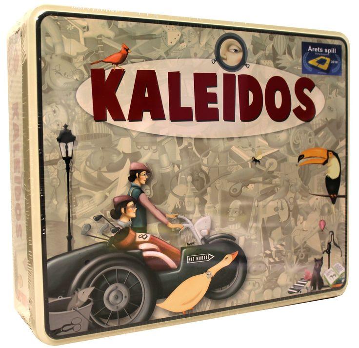 Kaleidos Brettspill i lekker stålboks. Årets selskapsspill 2010!
