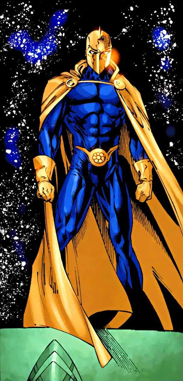 Dr Fate by Mark Bagley
