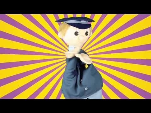 liedje muziek en dans Schooltv De postbode - YouTube
