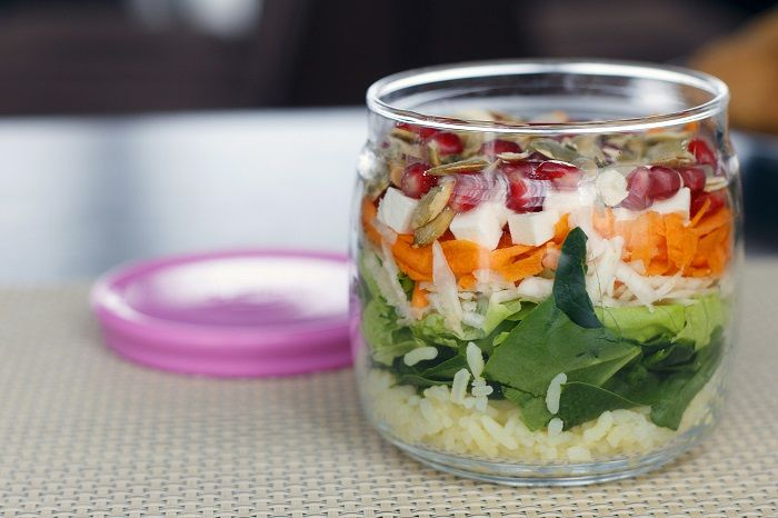 Рецепты Джейми Оливера: салат в банке (фото)