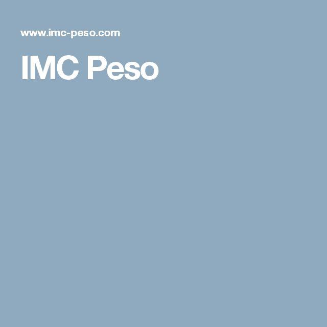 IMC Peso
