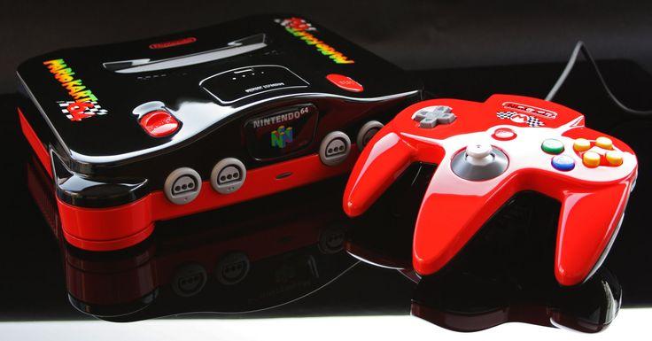 Mario Kart 64 N64  *heavy breathing*