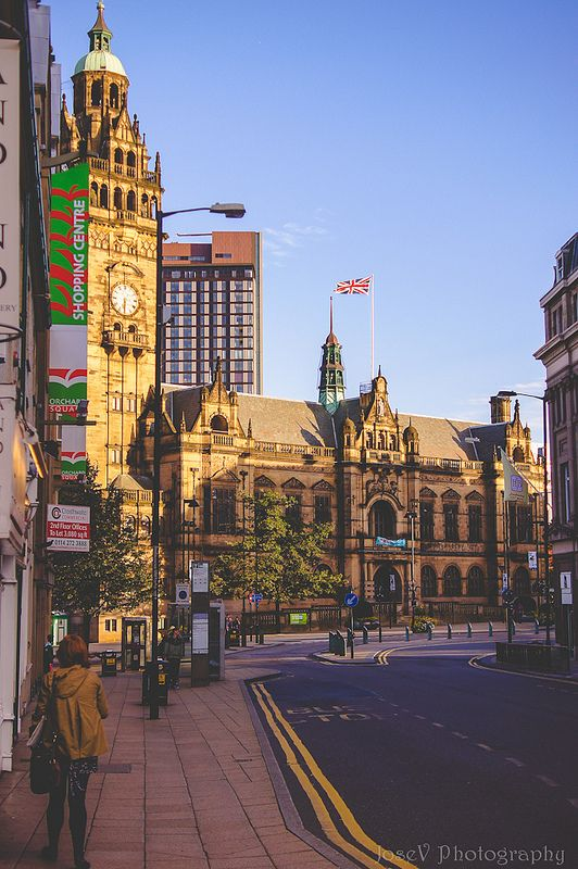 Sheffield Town Hall. England