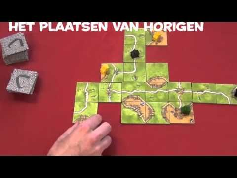 Carcassonne online speluitleg - YouTube