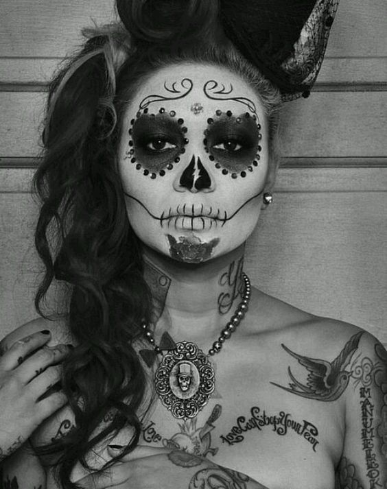 Candy Skull Makeup | Day of the Dead
