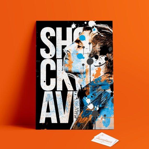 Liam Gallagher Canvas Digital Art