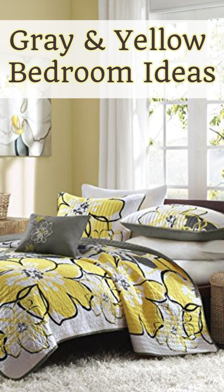 Gray And Yellow Bedding Bedroom Decor Ideas We Love Diy