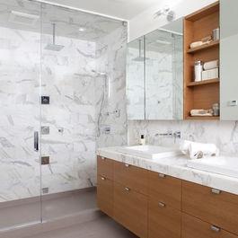 Modern Bath Photos Carrera Marble