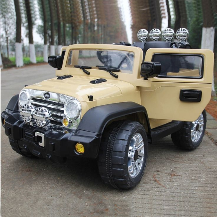 JEEP WRANGLER STYLE RIDE ON CAR REMOTE CONTROL 12VOLTS ...