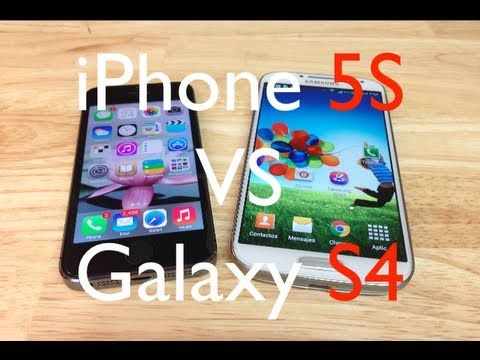 iPhone 5S Versus Galaxy S4   - Comparativas