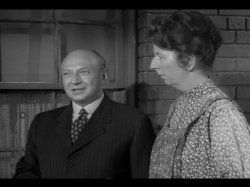 Robert H. Harris - (07/15/1911 - 11/30/1981) died at age 70. Actor born in NYC. Pictured here with actress Mary Wickes.