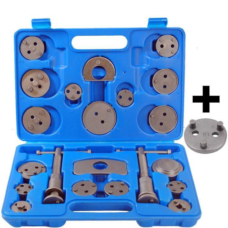 22 tlg Bremskolbenrücksteller Satz Bremskolben Rücksteller KFZ Werkzeug mit Nue VAG 3 Pin Adaptor: Amazon.de: Auto