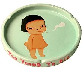 """Yoshitomo Nara """"Too young to die"""""""