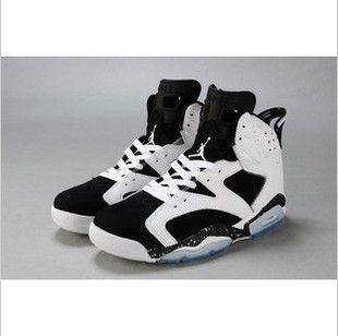 Basketball shoes, Athletic Shoes, Nike basketball shoes NIKE JORDAN 6 6 generations AJ6 Joe Jordan 6 Oreo men basketball shoes
