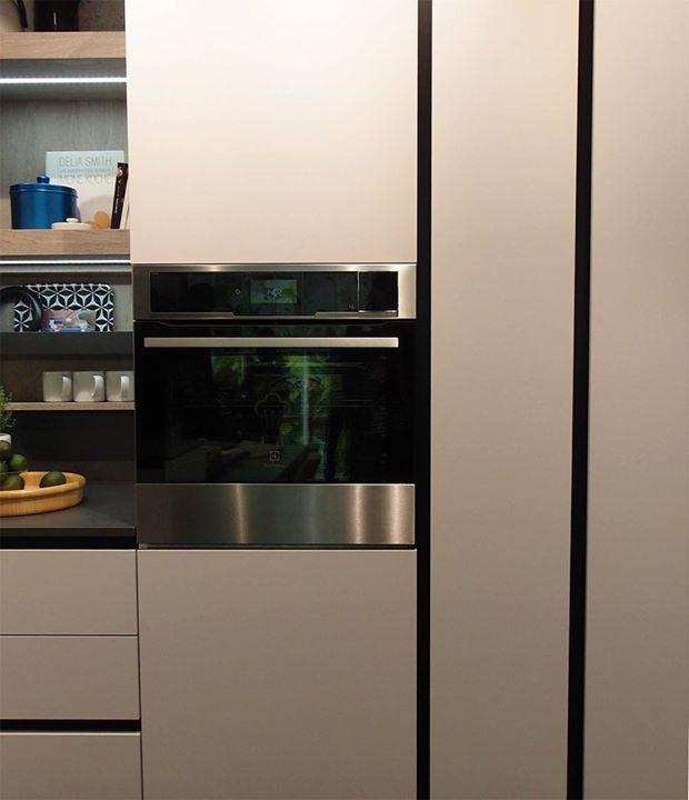 Kitchens matching living room furniture by Snaidero Cucine & Pianca #KitchenLiving — #Eurocucina