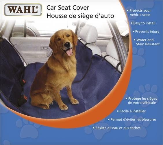 """HOUSSE POUR SIÈGE SUSPENDU - Couvre-siège de voiture pour animaux. Garde les poils à l'écart des sièges de voiture. Réglable pour s'ajuster à la plupart des voitures VUS et des fourgonnettes (s'ajuste aux voitures avec 4 appuis-tête). Résistant aux taches et à l'eau 100 % polyester. Facile à nettoyer : essuyez simplement avec un linge humide. Effet de hamac 55 x 59"""" (140 x 150 cm)"""