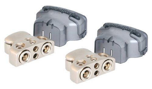 #Accessories We are an Authorized #ROCKFORD #FOSGATE Dealer! These TWO ROCKFORD FOSGATE RFDB1 1/0 or 4-Gauge Positive-Negative Car Audio Battery Terminals feature...