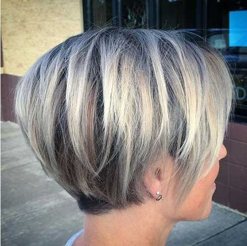 Handsome Straight Bob Hairstyles 2018