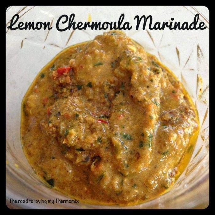 Lemon Chermoula Marinade / thermomix