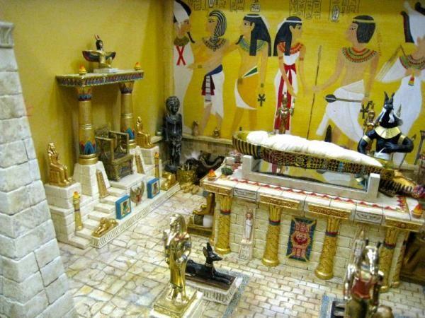 egyptian tomb diorama - Google Search More