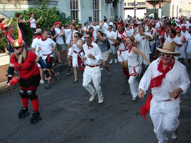Did you know that New Orleans has its own version of the Running of the Bulls? 2016 marks the 10th anniversary of San Fermin en Nueva Orleans. Here's what you should know.