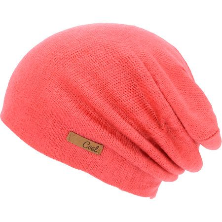 The Coal Julietta beanie is a classic slouch beanie in bright pink to keep  you looking good through the colder weather. Constructed with a… 0e91fb32354e