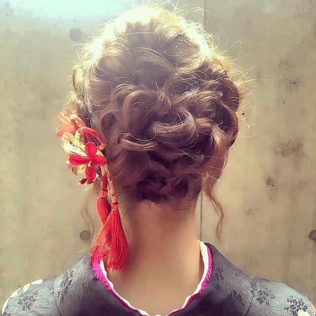 白無垢&色打掛に合わせたい♡可愛いすぎる和装ヘア用髪飾りまとめ*にて紹介している画像