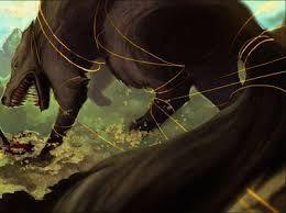 le gleipnir fabriqué par les elfs sombre il et fait de bruit de pas d'un chat, de la barbe d'une femme, de racine de montagne, de tendon d'ours, de crachat d'oiseau et de souffle de poisson, ( je vous met aux défit de me trouver tous ces ingrédients et de m'en faire un ruban