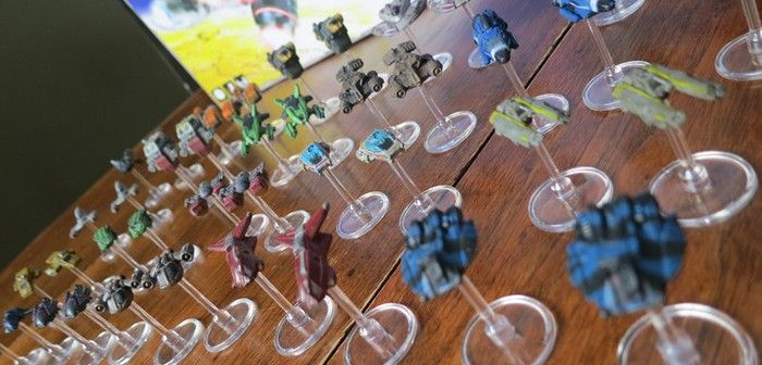 The Miniature Creation Process for Xia: Legends of a Drift System
