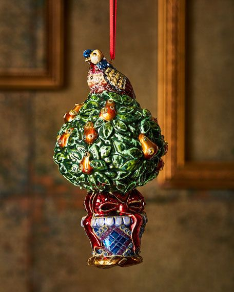 Partridge-in-a-Pear Tree Christmas Ornament - Partridge-in-a-Pear Tree Christmas Ornament Home Decor Inspo