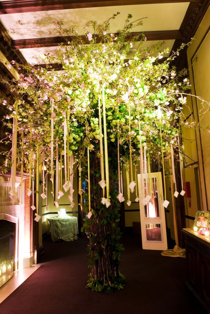 11 Best David Beahm Escort Card Trees Images On Pinterest Bodas